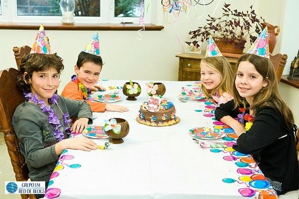 La celebración de un cumpleaños