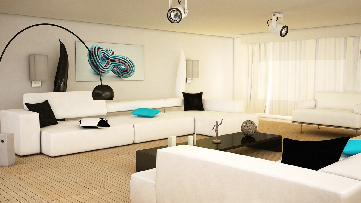 Ideas for Interior Decorating with Black and White - home987 ...