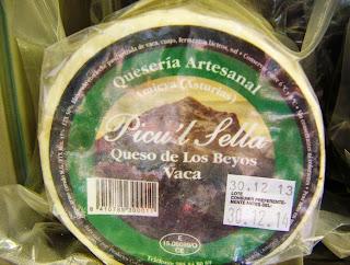 Pieza de queso de Los Beyos