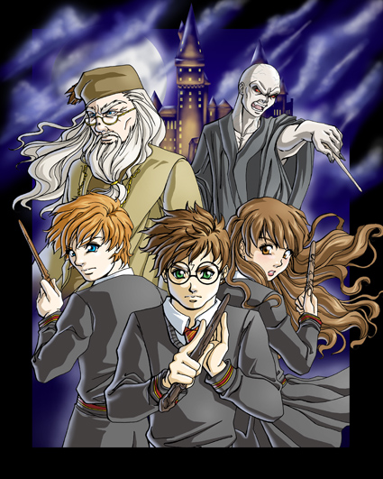 Harry Potter Harry_Potter_Anime_Style_by_FallenMessiahX
