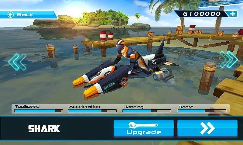 Android Motorlu Tekne Yarışı 3D Apk resimi 5