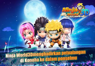 Download Game Naruto Android .APK ninja World 3D Pro