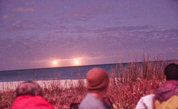 luces florida1 - Miembros del CSETI graban extrañas luces en Vero Beach Florida
