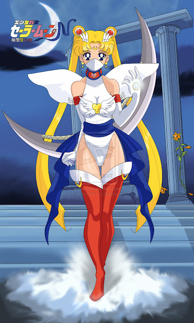 Pretty Soldier Sailor Moon N por darkthewise
