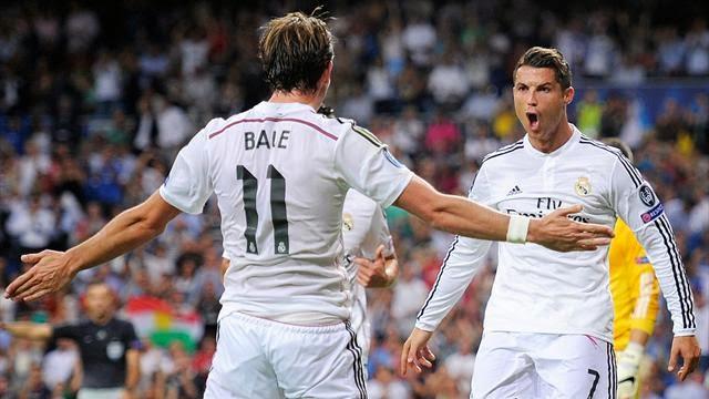 رونالدو في مباراة ريال مدريد وبازل