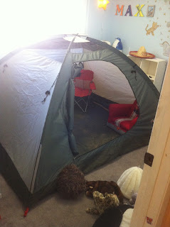 bedroom tent camping
