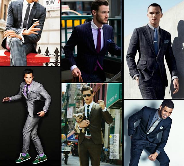 Inspiración street style para utilizar traje
