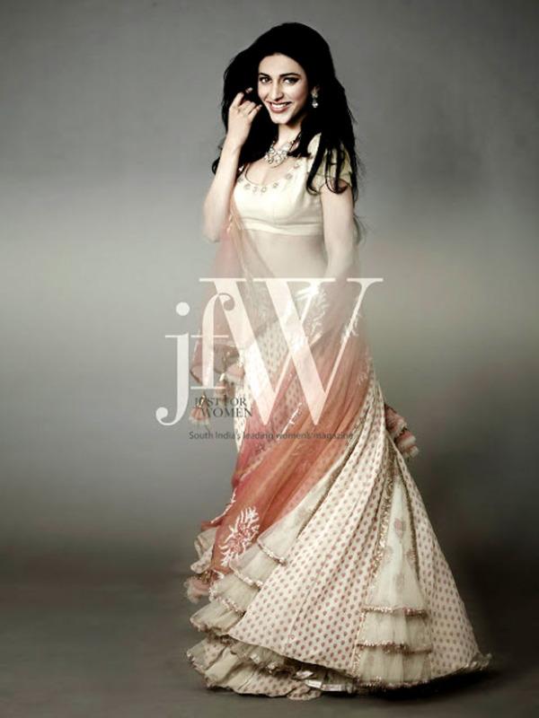 , Shruti Hassan Jfw Magazine Pics - Hot Photoshoot 2012