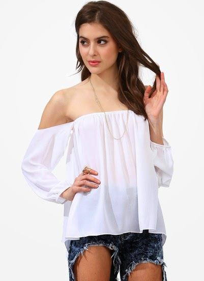 http://www.sheinside.com/White-Off-the-Shoulder-Strapless-Loose-Blouse-p-167998-cat-1733.html