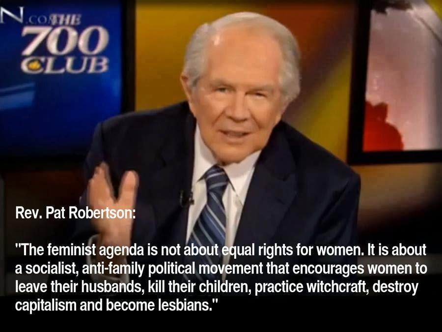 Pat Robertson erklärt den Feminismus