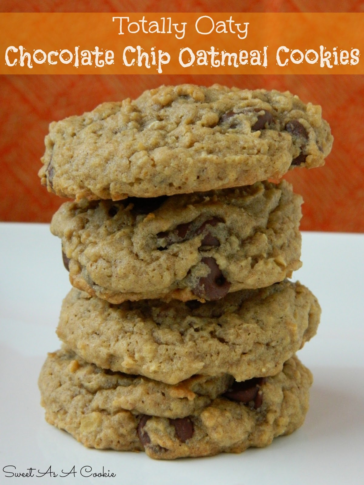 Chocolate Chip Toffee Oatmeal Cookies Recipe — Dishmaps