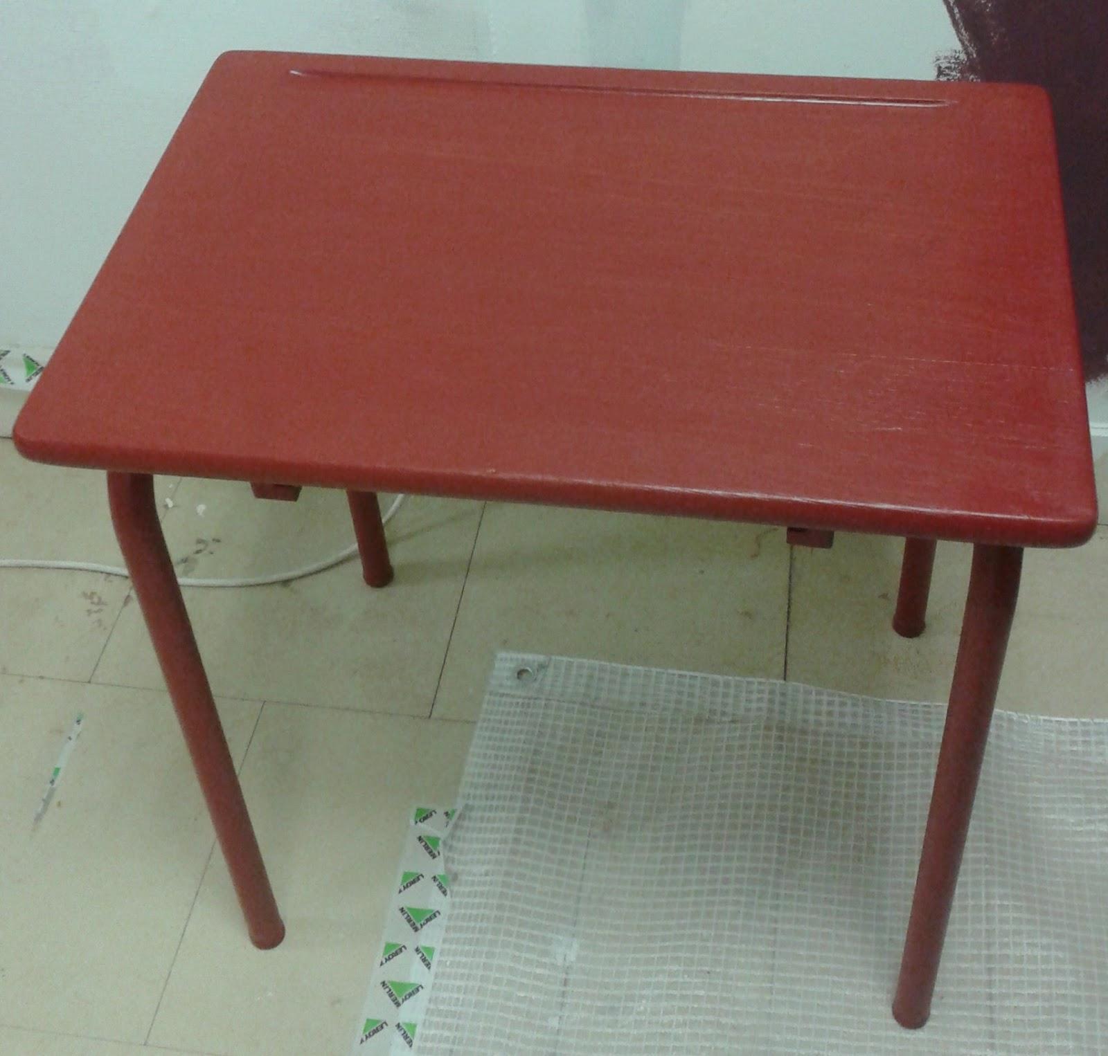 peinture sur meuble relooking bureau colier cours de. Black Bedroom Furniture Sets. Home Design Ideas