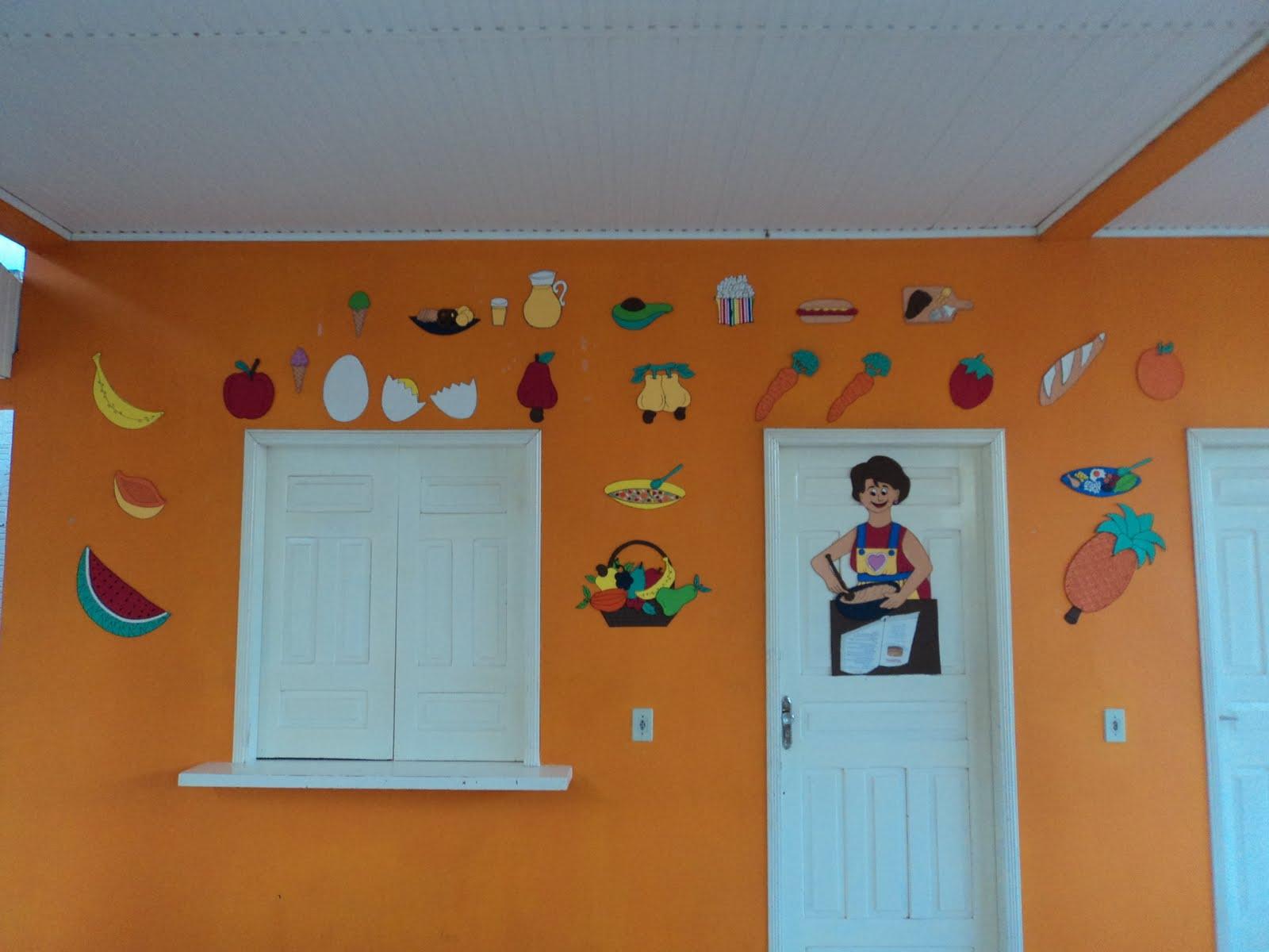 Simonia arte em e v a decora o de cantina for Propuesta para una cantina escolar