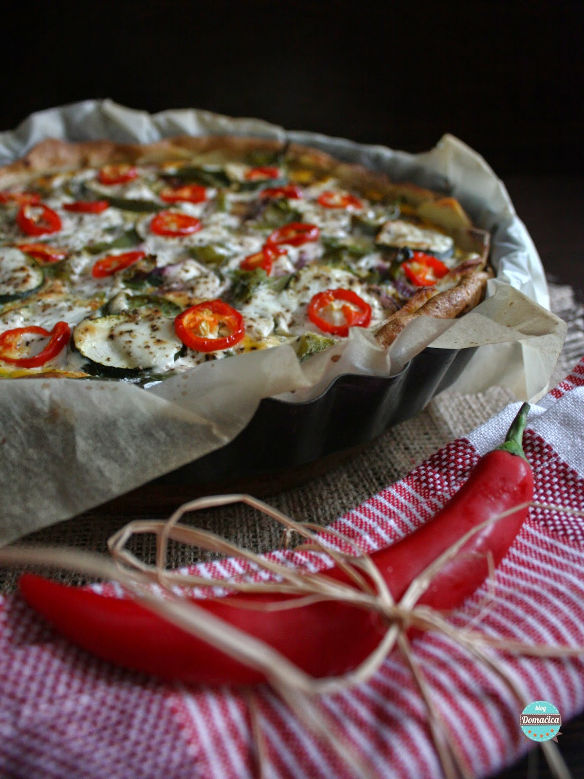 Tart s povrćem Domacica-tart-s-povrcem-1