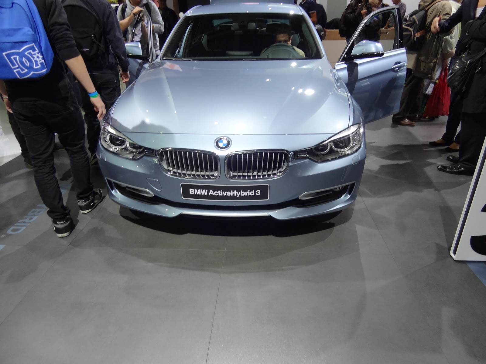 Bmw 3 series activehybrid 3