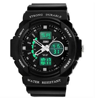 Jam Tangan SKMEI GRENADE Dual Time Anti Air 5atm, Rp. 299.000, J150
