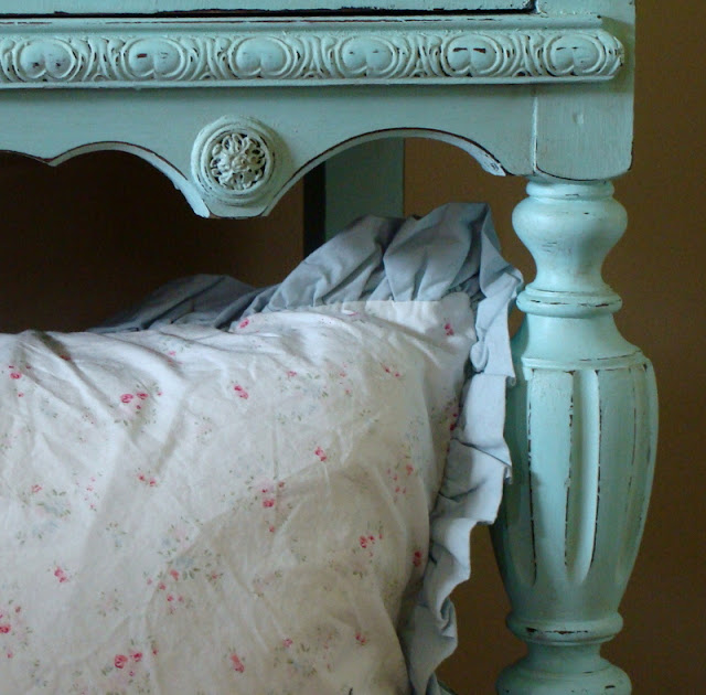 The Decorating Diaries Turquoise Cabinet With Homemade Chalk Paint