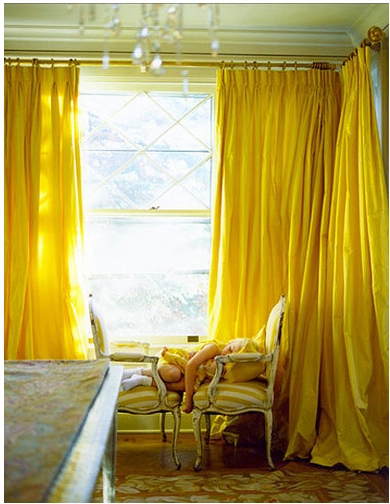 Apartment therapy curtains 2