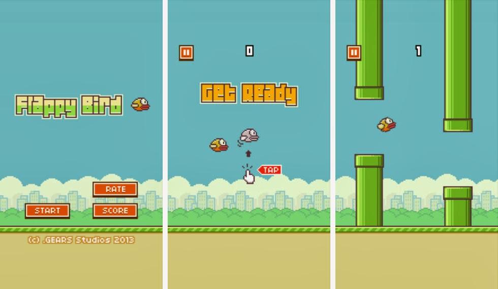 Flappy Bird kiếm hơn 50.000 USD/ngày