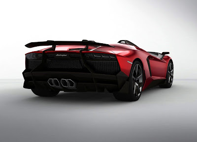 2012 Lamborghini Aventador J Concept