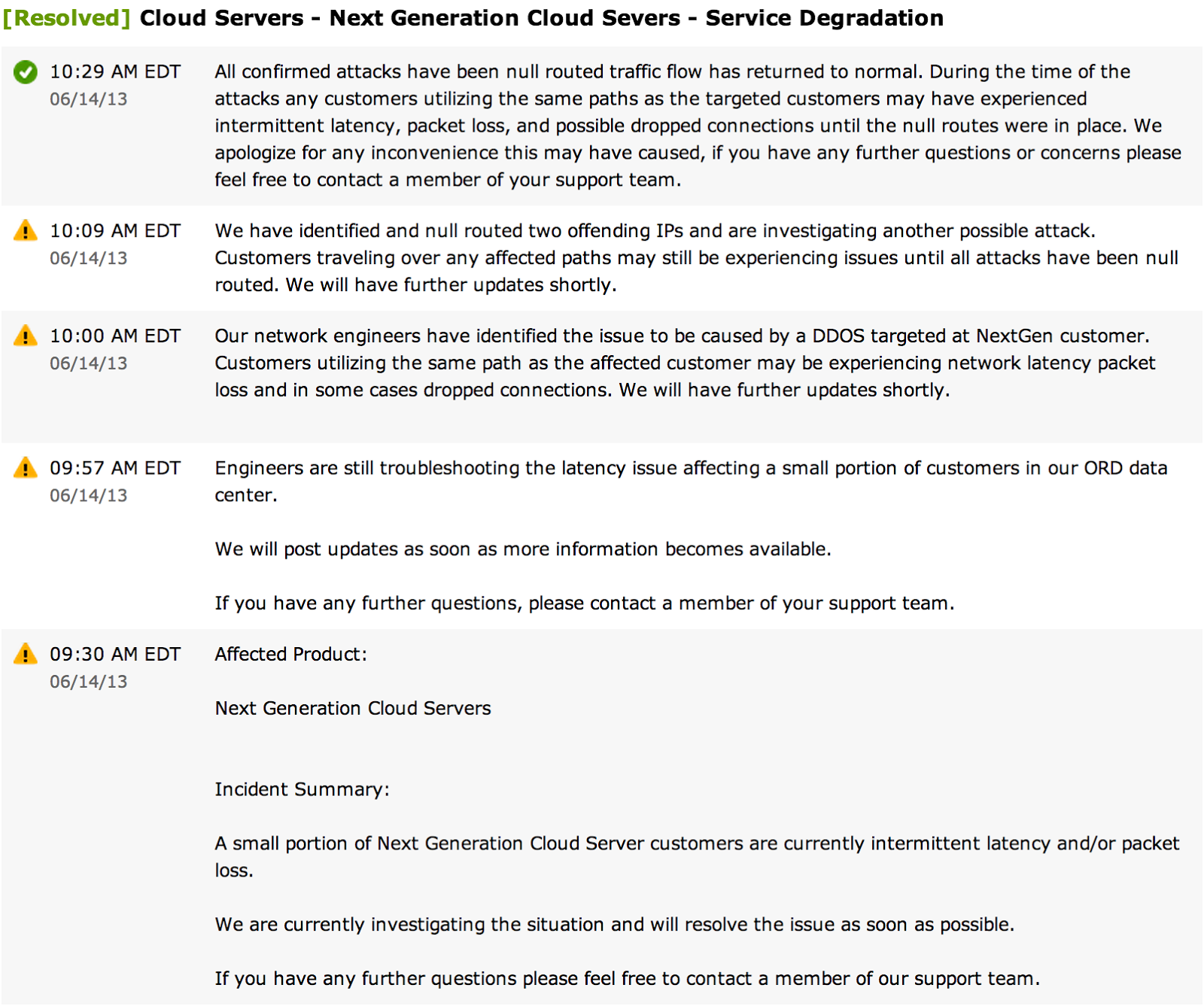 sflow multi tenant performance isolation this incident report from an openstack based cloud data center illustrates how performance problems can propagate and affect multiple tenants in the
