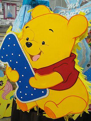 Pi atas de winnie pooh para fiestas infantiles for Decoracion winnie pooh para fiesta infantil