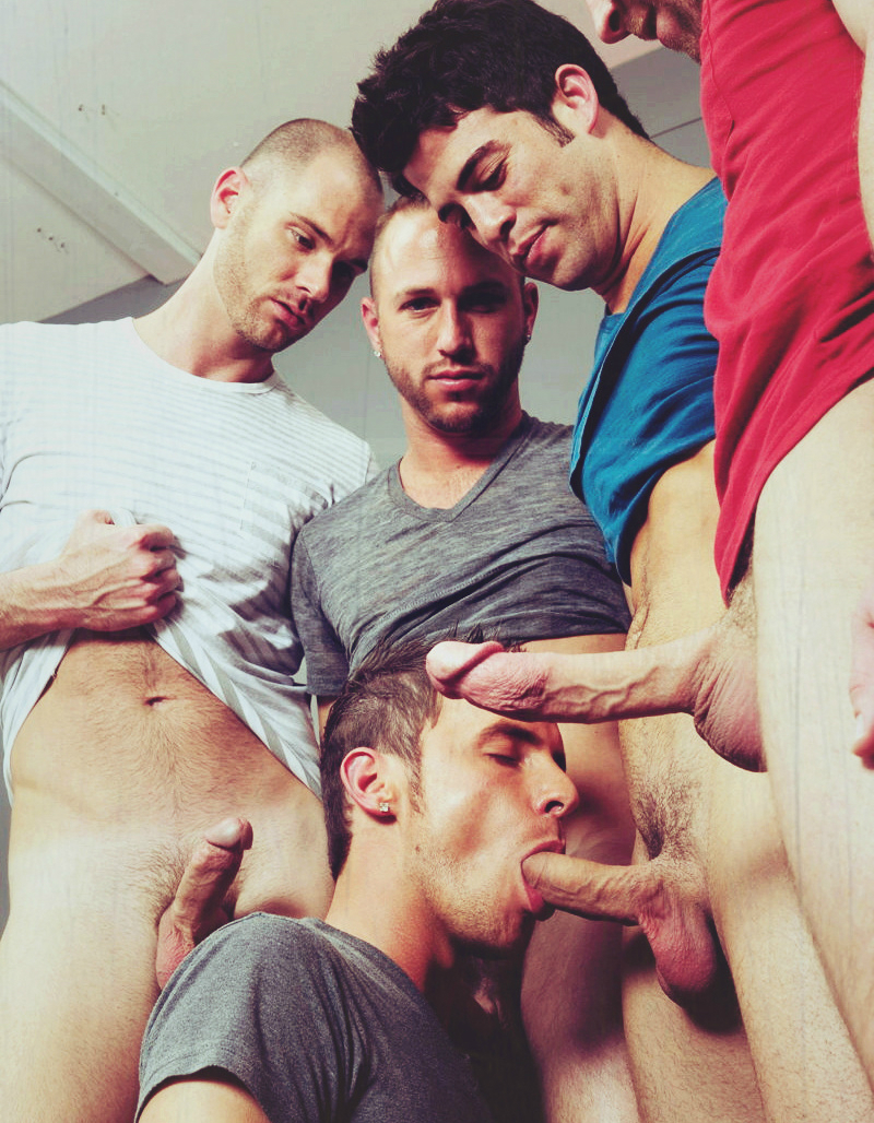 Gay orgy photo