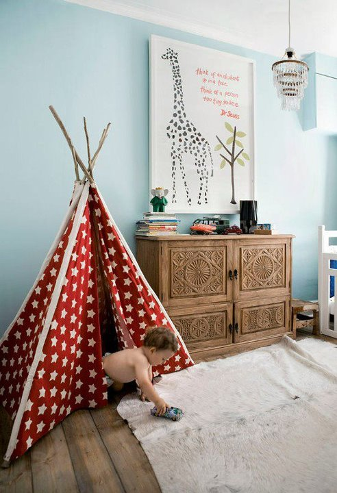 Best decorating ideas cool kids play rooms with play tents