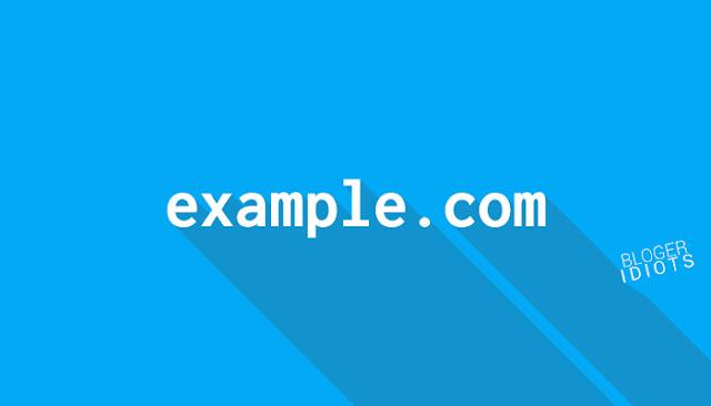 Cara menghilangkan blogspot menjadi com tidak gratis