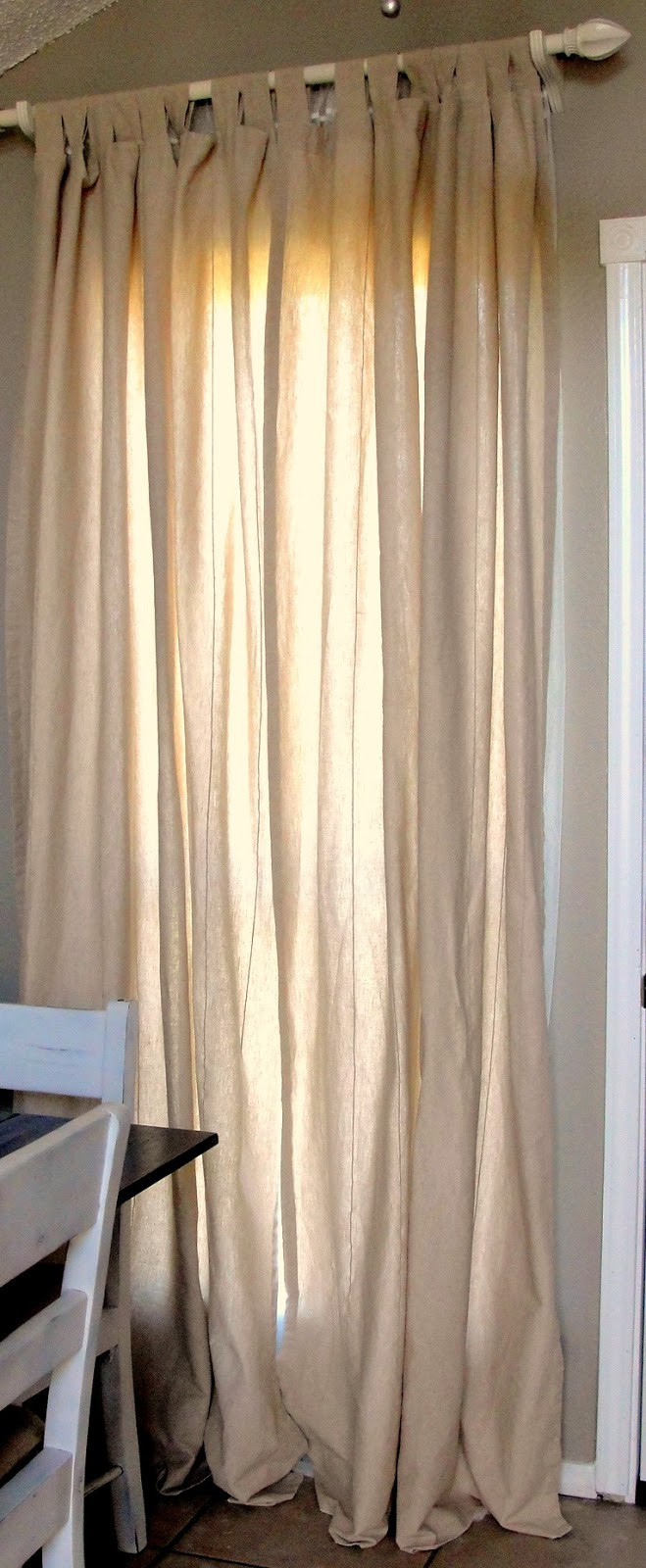 long curtains on a short window | homeminimalis.com. window curtains ...