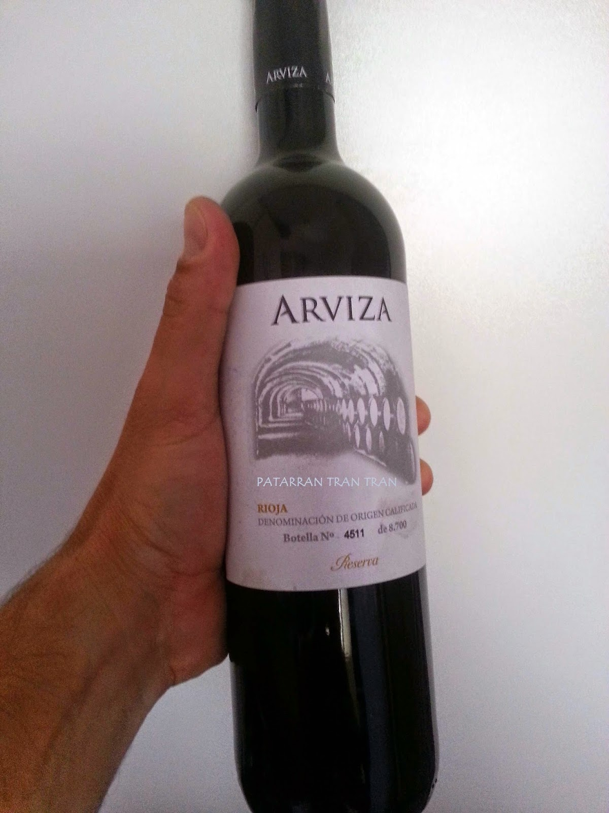 Arviza. Rioja. Reserva 2007.