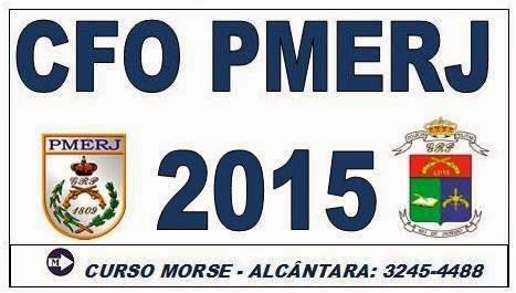 PREPARATÓRIO CFO PMERJ 2015