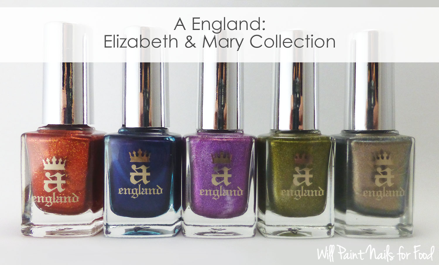 A England Elizabeth & Mary Collection