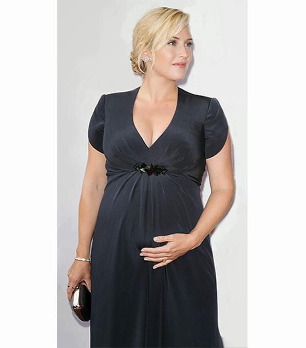 Peinados de fiesta para mujeres embarazadas