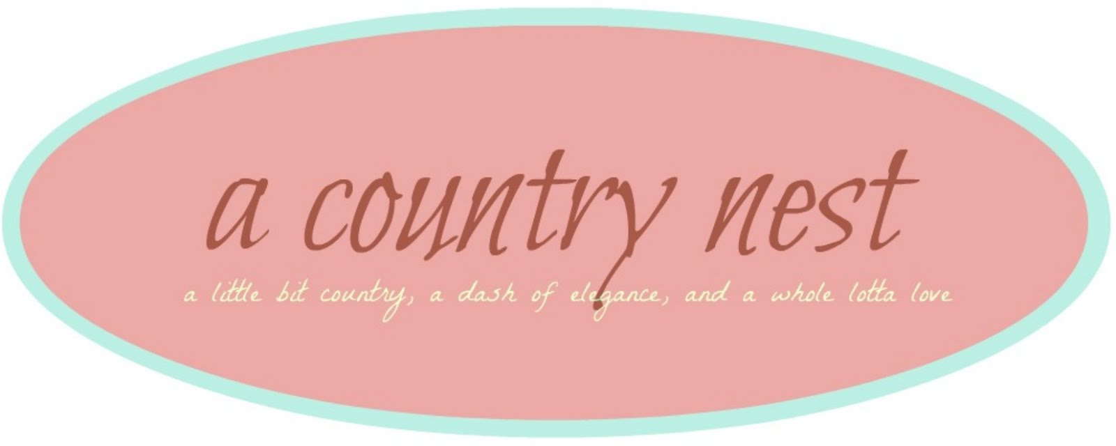 ♥ a country nest