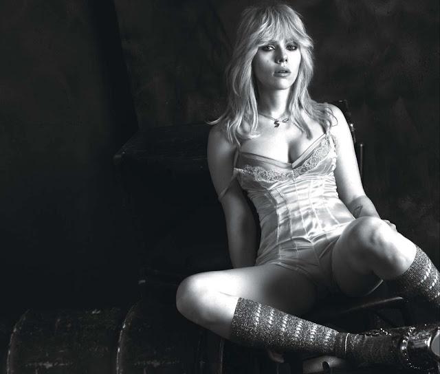Фотосесія американської актриси Скарлетт Йоханссон