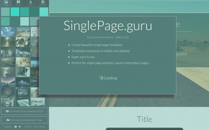 SinglePage.guru