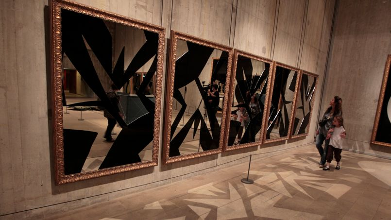 Blog du peintre francisco rivero le louvre tant le for Miroir dans l art