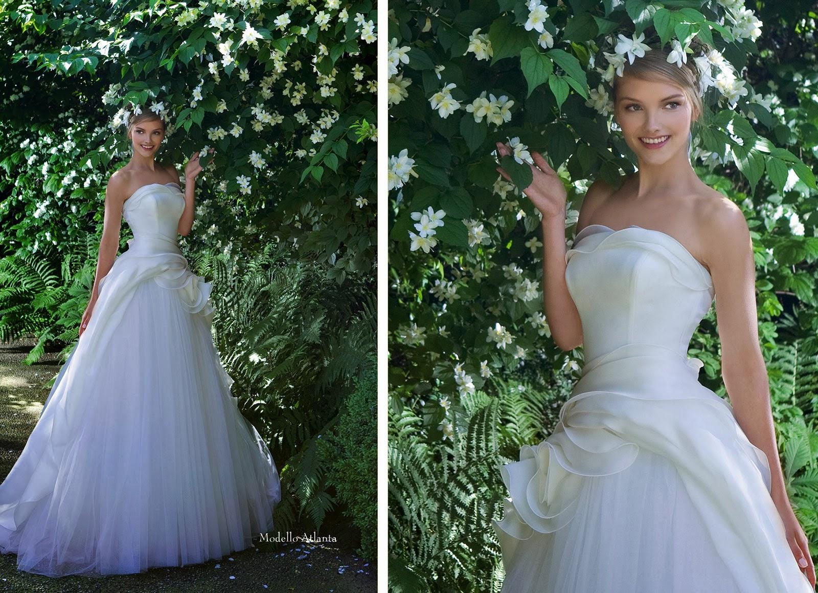 Asombrosos vestidos de novia colecci n giardini paghera for Paghera giardini