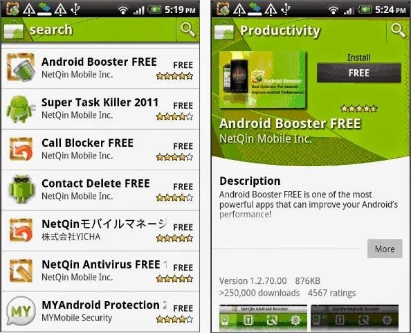 aplikasi cleaner untuk mempercepat ponsel android booster
