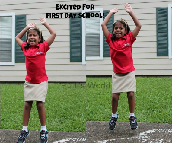 First Day school Photos