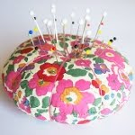 A Liberty Print Pincushion DIY Tutorial...