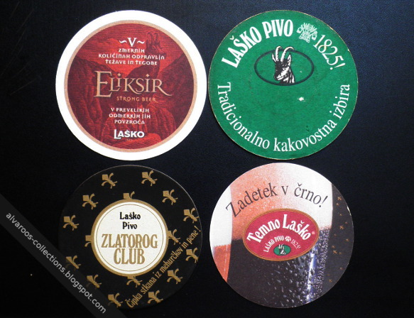 Beer coasters: Lasko