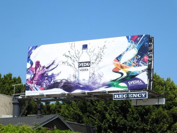 Svedka Vodka 2013 ad campaign billboard
