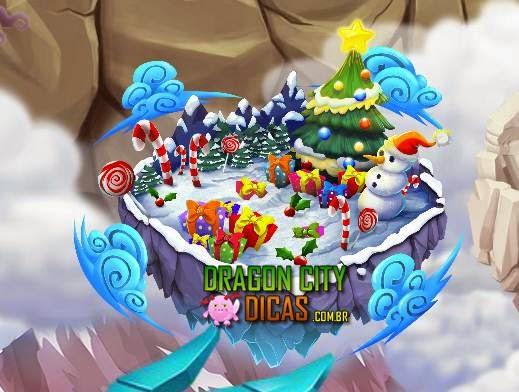 Calendário de Inverno 2014 - Natal no Dragon City