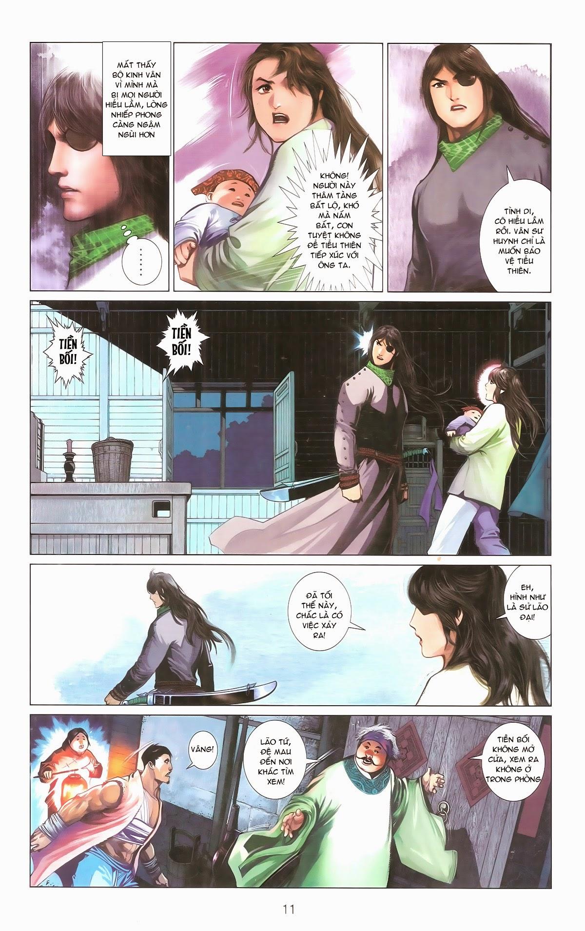 Phong Vân chap 673 Trang 12 - Mangak.info