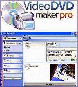 برنامج لأستيراد ملفات الفيديو من الكاميرا والتعديل عليها Video DVD Maker PRO