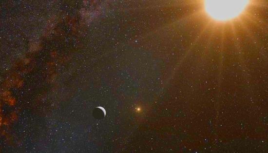 planeta en Alfa Centauri B