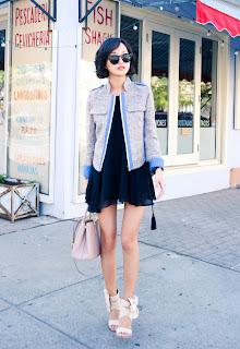 http://3.bp.blogspot.com/-fK-mhLzvxSw/T5rA-F3KoEI/AAAAAAAAEeM/sLtlMeaECyY/s1600/misspouty+blog+prada+saffiano+tote+pink+black+cape+dress+denim+tweed+blazer+giuseppe+zanotti+bow+sandals+street+style+fashion+blogger+hermes+bracelet++12.JPG