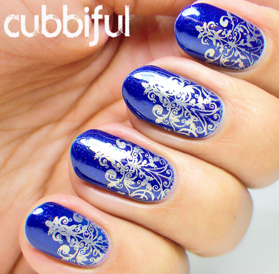 Royal blue and silver nail designs image collections nail art royal blue and silver nail designs choice image nail art and royal blue and silver nail prinsesfo Images